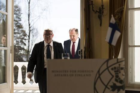 Lavrov saapui vierailulle Suomeen tämän vuoden toukokuussa.