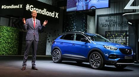 Opel Grandland X on palanen Opelin tämänvuotista uutuustykitystä.