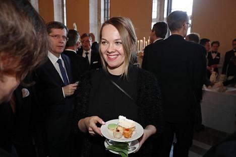 Valtiovarainministeri Katri Kulmuni uskoo myös itse, että huominen on parempi.