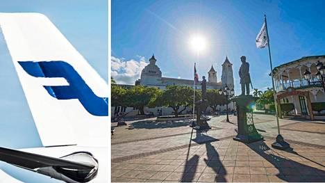 Finnairin lento Dominikaanisesta tasavallasta myöhästyy vuorokaudella.