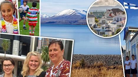 Annika, Outi ja Elsa löysivät paratiisinsa Uudesta-Seelannista – Annikan mies ihastui Suomen suoriin puihin ja teihin