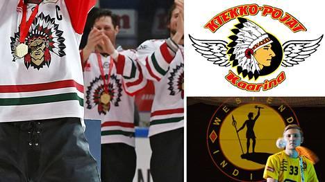 Frölunda Indians ja HC Indians Kaarina pelaavat jääkiekkoa. Westend Indians on salibandyseura.