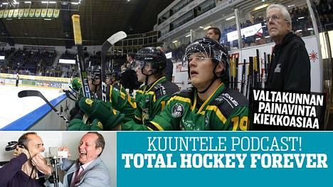 Total Hockey Forever -ohjelmassa pureudutaan tänään Ilveksen vaikeuksiin.