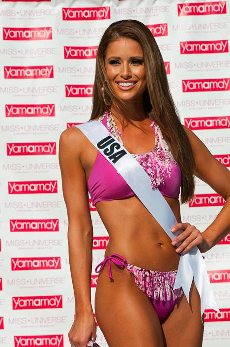 Miss USA Nia Sanchez.