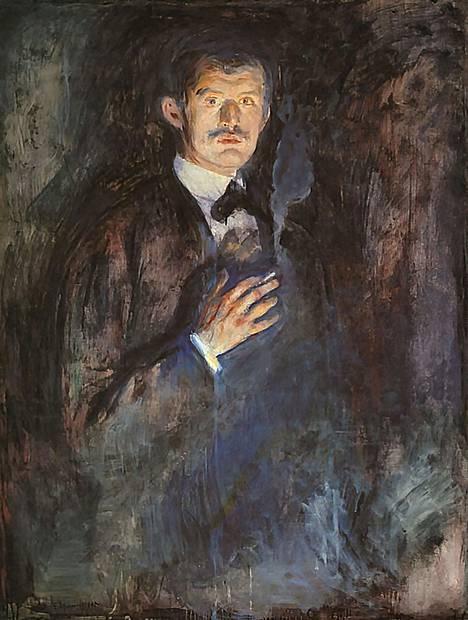 Edvard Munch kärsi mielenterveyshaasteista elämänsä aikana.