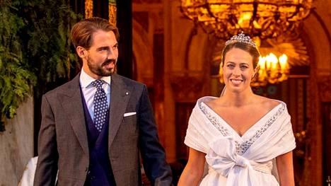 Prinssi Philipposin ja Nina Flohrin häistä ei puuttunut loistoa tai vaikutusvaltaisia vieraita.