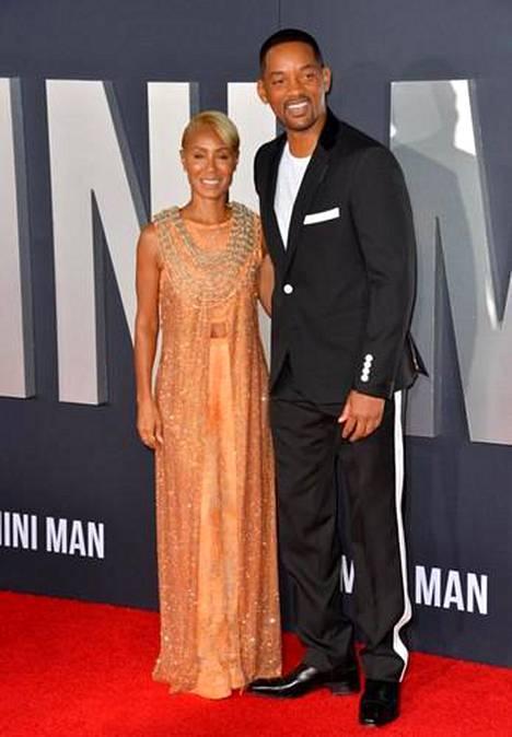 Will Smith ja Jada Pinkett Smith menivät naimisiin vuonna 1997.