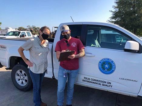 TCEQ:n työntekijät ovat tarkastaneet kaupungin vedenjakelua ameban varalta.