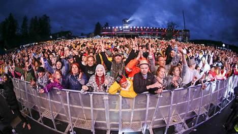 Vuoden 2018 Himos Festivaaleilla Jämsässä ei ollut vielä tietoakaan koronasta.