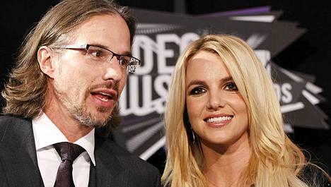 Jason Trawick ja Britney Spears ovat eronneet.