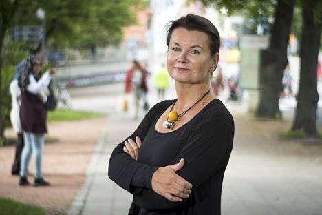 Turun yliopiston psykologian professori Christina Salmivalli.