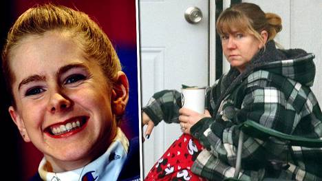 Tonya Harding vuosina 1994 ja 2017.