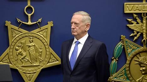 Yhdysvaltain ulkoministeri James Mattis.