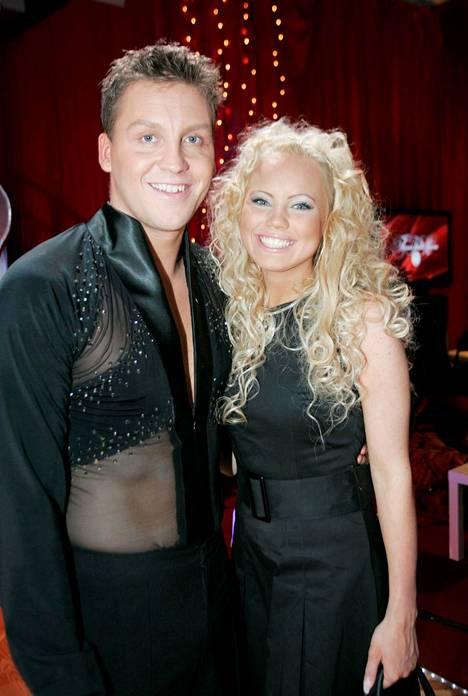 Jani osallistui Tanssii tähtien kanssa -ohjelmaan vuonna 2007.