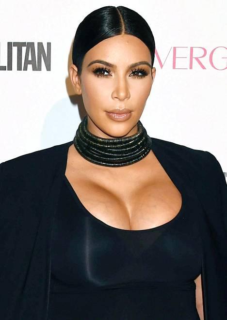 Kardashian on laihtunut 30 kiloa raskautensa jälkeen.