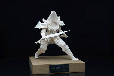 23-vuotias taiteilija hahmotteli Assassin-teostaan viitisen kuukautta.