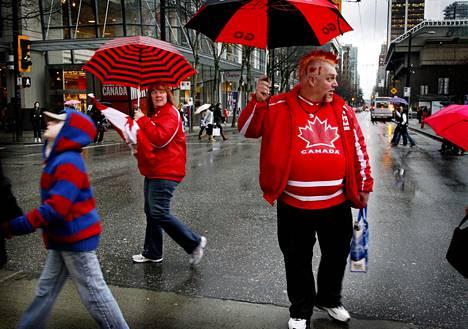 Vancouverissa satoi talviolympialaisten aikaan 2010 lähinnä vettä.