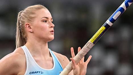 Wilma Murto sijoittui viidenneksi olympiafinaalissa.