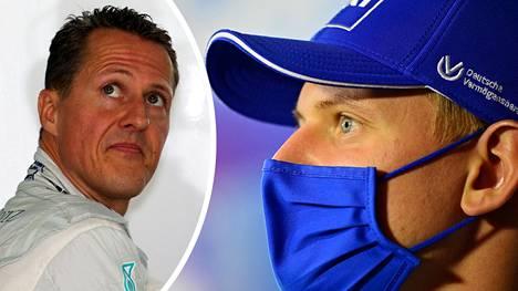 Mick Schumacher ei pysty jakamaan ajatuksiaan moottoriurheilu-urastaan isänsä Michaelin kanssa.