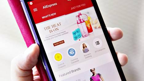 Kiinalainen verkkokauppa AliExpress kilpailee suomalaisten kuluttajien huomiosta.