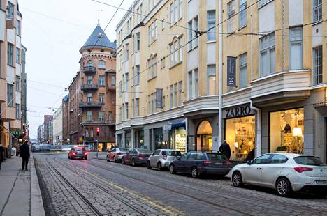 18. Fredrikinkatu vuonna 2014.