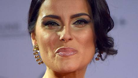 Laulaja Nelly Furtado osallistui Saksassa järjestettyyn palkintogaalaan marraskuussa.