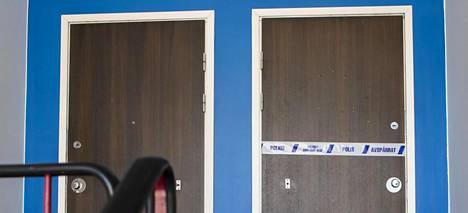Penttilän asunto oli maanantaina poliisin eristämä.