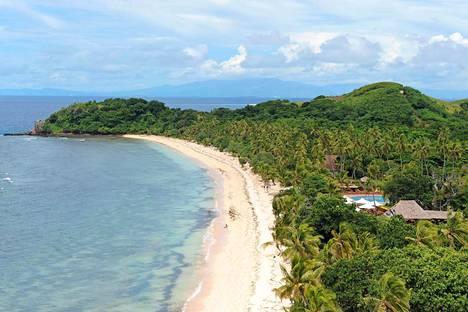 Fidžin komeimmat rannat löytyvät pieniltä saarilta. Niihin kuljetaan pikaveneillä pääsaarelta.