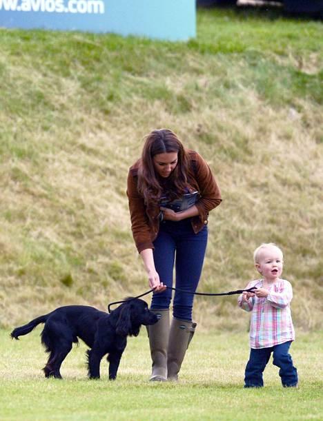 Ludo-koira oli Williamille ja Catherinelle erittäin rakas.