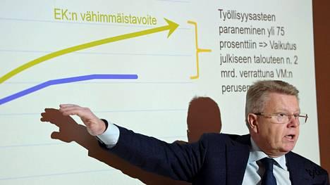 –Osaajapula on kasvun este. Tekijöitä tarvitaan nyt kaikkiin tehtäviin, kaikille toimialoille ja kaiken kokoisiin yrityksiin, EK:n toimitusjohtaja Jyri Häkämies sanoo.