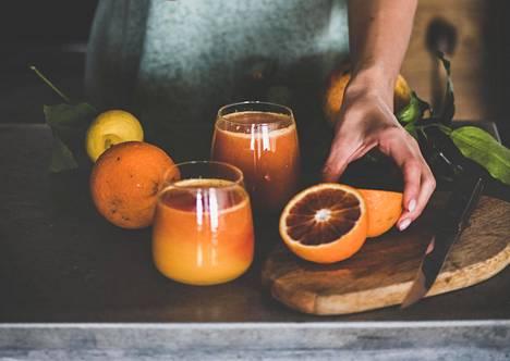 Sitrushedelmät ovat helppo tapa huolehtia C-vitamiinin saannista.