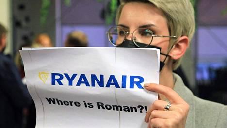 """""""Missä on Raman?"""" Tämän saman kysymyksen kysyvät oletettavasti EU:n johtajat Valko-Venäjän poliittiselta johdolta."""