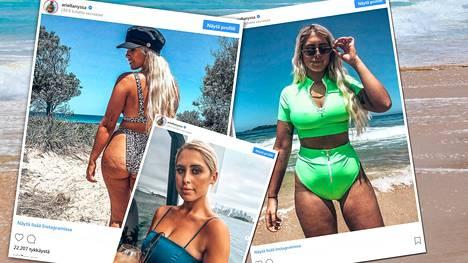 Instagramin bikinimalli Ariella Nyssa kehottaa julkaisuissaan seuraajiaan arvostamaan kehoaan ja kantamaan sen ylpeydellä, vikoineen päivineen.