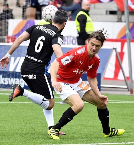 Pekka Sihvola (oik.) on ollut HIFK:n tehokkain.