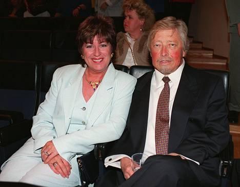 Pertsa ja Angela Reponen 1997.