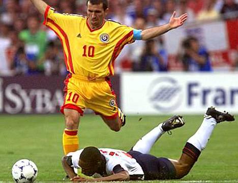 Gheorge Hagi oli takavuosina Romanian maajoukkueen supertähti.