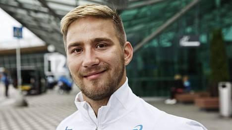Henry Manni nähdään lauantaina illalla T34-luokan 100 metrin loppukilpailussa.