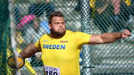 Daniel Ståhl tykitti huipputuloksen.