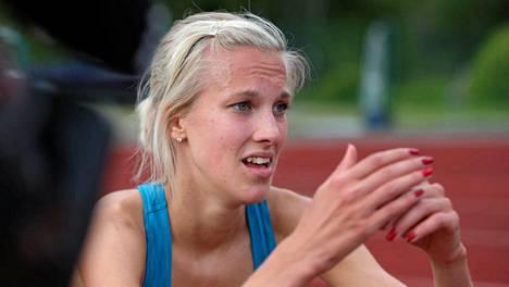 Camilla Richardsson tavoittelee EM-rajaa Kalevan kisoissa.