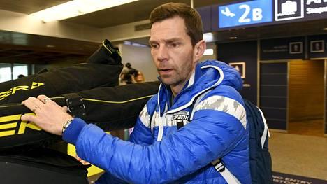 Janne Ahonen osallistui viime talvena olympialaisiin.