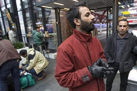 Ahmed pelkää, että hänet palautetaan Irakiin.