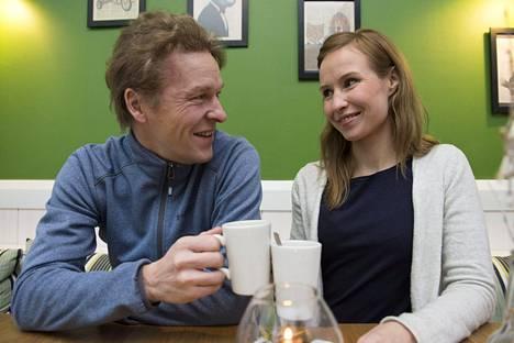 Toni ja Heidi Nieminen ovat tunteneet toisensa vähän yli kahden vuoden ajan.