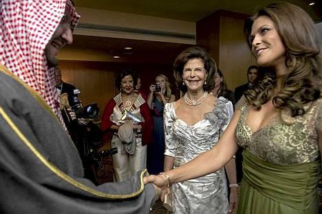 Madeleine tapasi Saudi-Arabian prinssin.