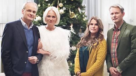 Fredde (Johan Rheborg), Mickan (Josephine Bornebusch), Anna (Mia Skäringer) ja Alex (Felix Herngren) sotkevat taas asiansa.