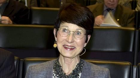Sari Baldauf työskenteli pitkään Nokian johtotehtävissä vuosituhannen vaihteessa.