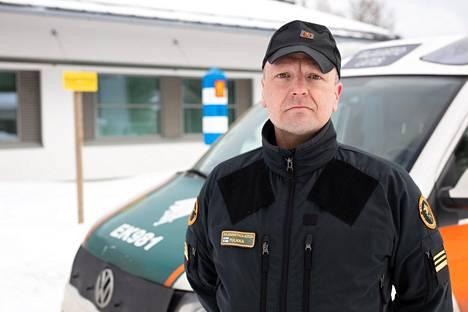 Toimistoupseeri Tapani Pulkan mukaan dronet ovat hyödyllinen apuväline rajavartioinnissa.