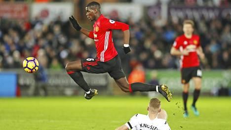 86 miljoonalla punnalla hankittu Paul Pogba ei ole vastannut vielä odotuksia Old Traffordilla.