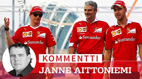 Kommentti: Erotettu Ferrarin F1-pomo yritti pitää Kimi Räikkösen tyytyväisenä – potkut olisi pitänyt antaa Sebastian Vettelille