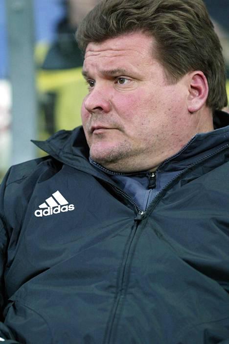 Markku Palmroos oli AC Alliansin apuvalmentaja vuonna 2005.