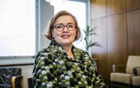 Vantaan kaupunginjohtaja Ritva Viljanen.